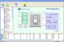 NetX-IP Main Thermostat Window